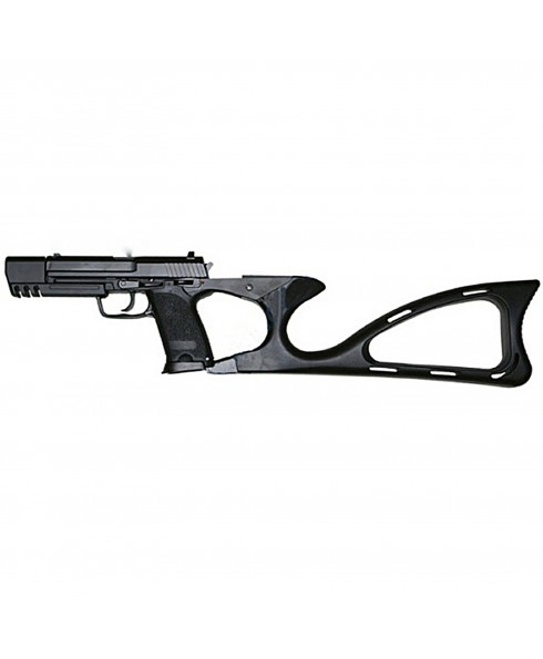 PISTOLA A GAS IN ABS PLASTICA TIPO HELKER AND KOCH MARK 23 PER SOFT AIR SOFTAIR SPRING TIME STTGGB03
