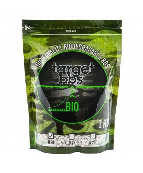 Pallini Softair 6mm Biodegradabili 0,20g Target BBS - Busta 1 kg