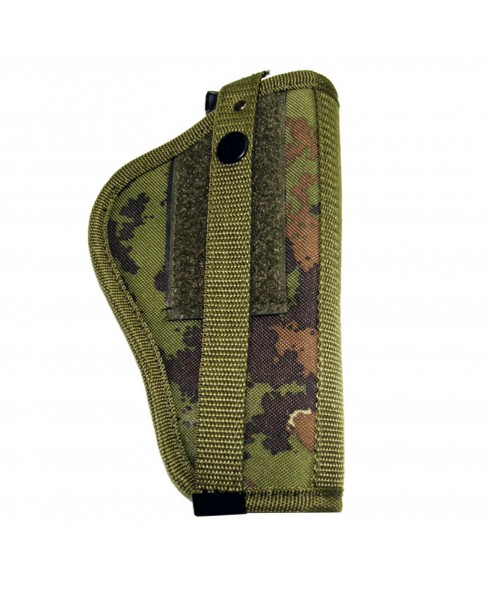 FONDINA PER CINTURA VERDE MILITARE VEGETATO ITALIANO SOFT AIR UNIVERSALE ROYAL