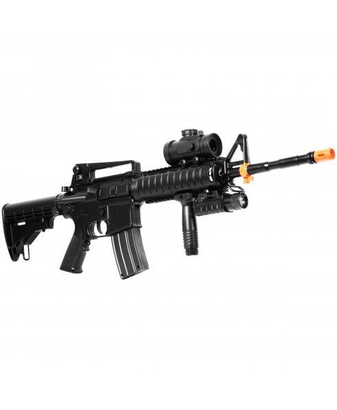 FUCILE MITRA ELETTRICO PROFESSIONALE M83A2 PER SOFTAIR SOFT AIR IN ABS