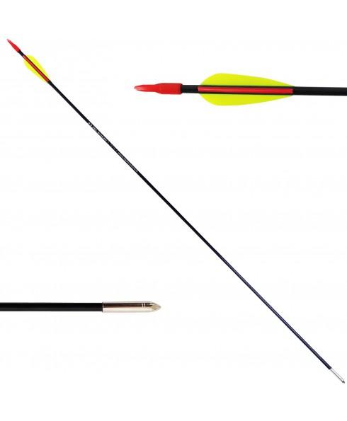 1 Freccia per Arco Tiro Bersaglio in Carbonio 75 cm 5.5 mm