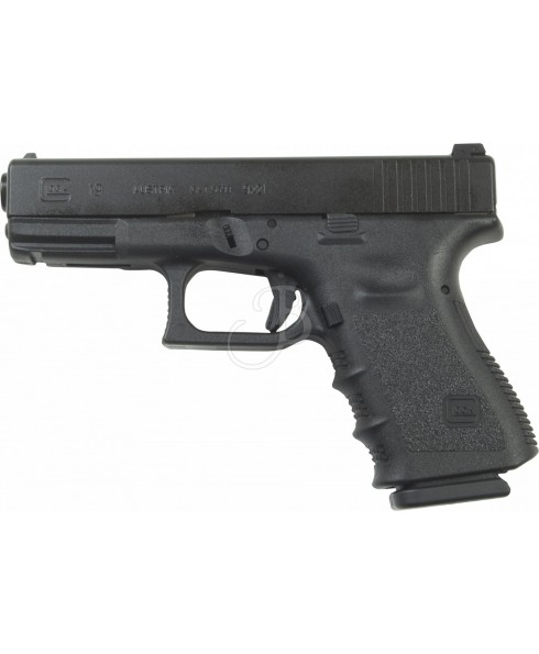 PISTOLA A MOLLA IN ABS PLASTICA TIPO GLOCK 19 PER SOFT AIR SOFTAIR SPRING TIME STTGA202