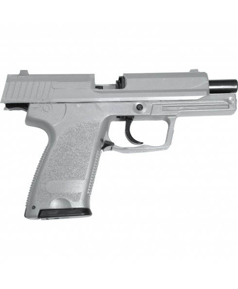 PISTOLA A MOLLA IN ABS SPRING HA112C USP HFC P8 PER SOFTAIR SOFT AIR GRIGIA NUOVA HA112C