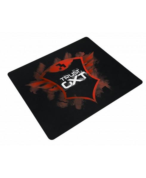 Tappetino per Mouse Nero Taglia L in Gomma Antiscivolo Trust Gaming 32x27 cm