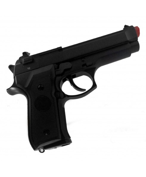 Pistola Beretta in Abs a Gas CO2 BRT 92F per Soft Air Softair Potenza Inferiore a 1 Joule
