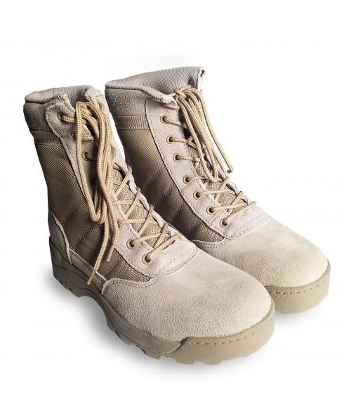 Anfibi Stivali Scarpe da Trakking per Softair Caccia Beige Tan Taglia 43 Royal