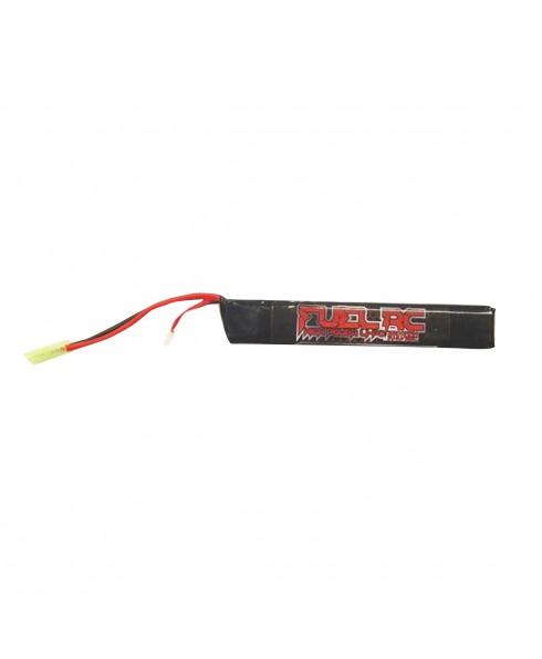 Batteria 7.4 V Softair 2200 T 25 C 12,5x2,1x1,9 cm Gioco Sport Alte Prestazioni
