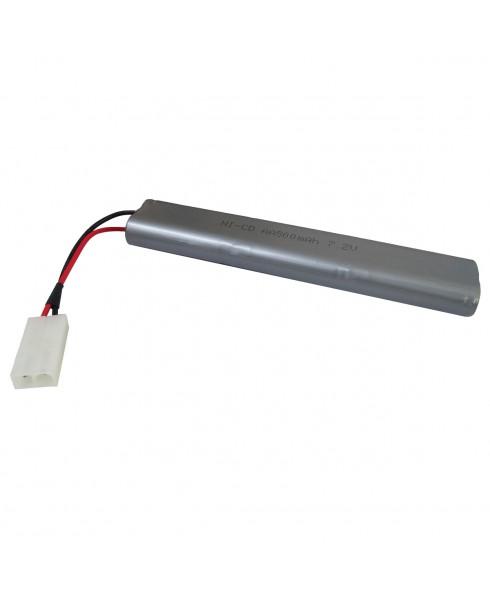 Batteria Ni-Cd 7.2V 500 mAh per Softair Double Eagle M83A2 M83B2 M85