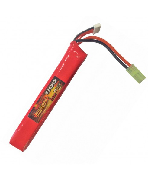 Batteria Lipo 11.1V Billowy Power 1300 mAh Ricaricabile 20C Softair