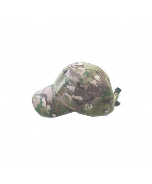 Cappello Berretto Tattico Visiera Regolabile Softair Caccia Militare Multicam