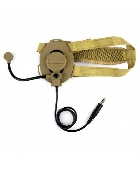 Cuffia Bowman EVO III per elmetto da softair Radio Headset con microfono