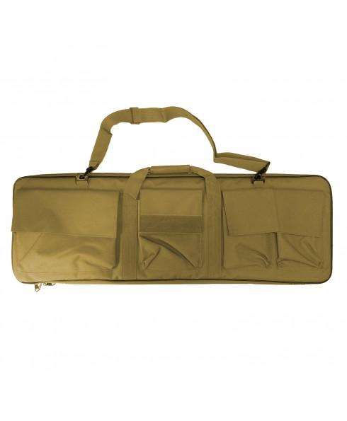 Custodia Valigia per Fucile imbottita In Cordura Tracolla per Caccia Softair Tan Shop SoftAir