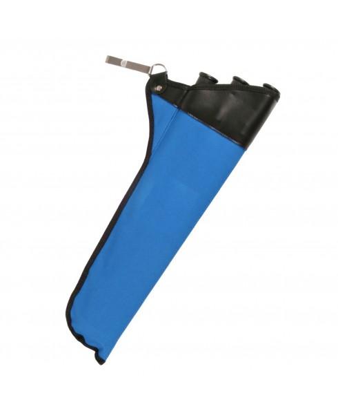 Faretra Porta Frecce per Arco Freccia Gancio Archi Arrow Tiro 3 Tubi in Cordura