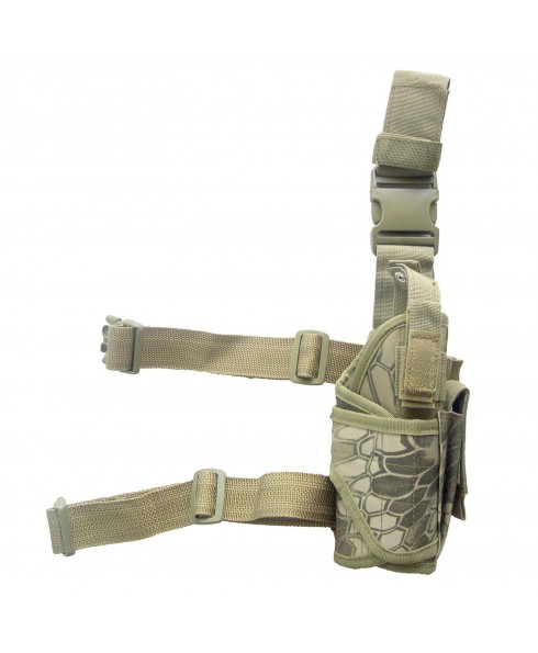 Fondina Cosciale Militare per Pistola Exagon Softair Tactical HighLander