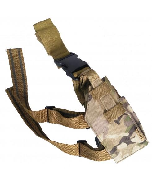 Fondina Cosciale in Cordura Multicam Militare Pistola Universale Desert Eagle