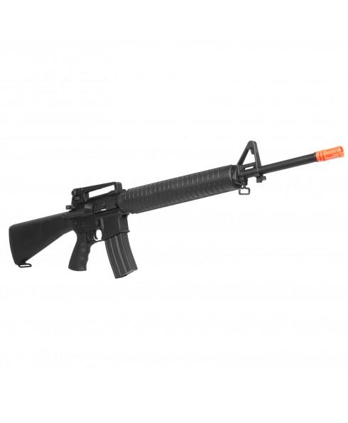Fucile a Molla M16 A1 Vietnam ABS per Softair Soft Air Potenza Inferiore 1 Joule