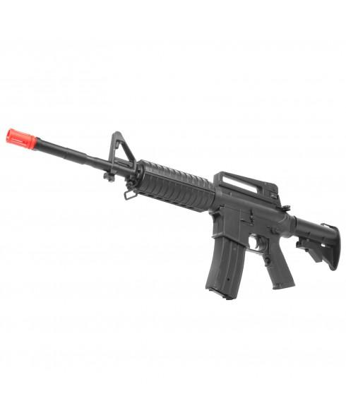 Fucile Elettrico in ABS M4A1 Mitra per Softair Calcio Retrattile Soft Air