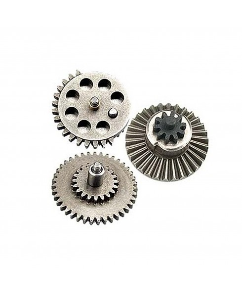 Ingranaggi Rinforzati per Softair Gear Set Gearbox Kit in Acciaio Lucidato ICS