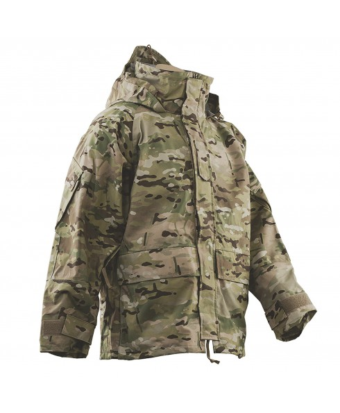 Giacca Impermeabile Mimetica Militare K-way Multicam Anti Pioggia Softair TG S