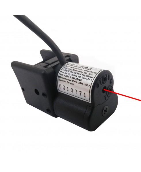 Puntatore Precisione Laser per Softair Soft Air Mirino Fucile Pistole Caccia