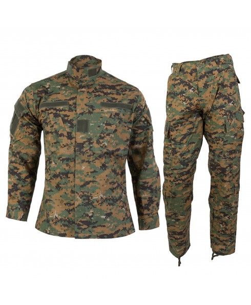 Mimetica Vegetata Militare TAGLIA XL Giacca Pantalone Digital Woodland MARPAT