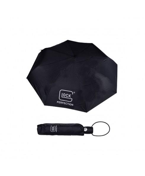 Ombrello Nero Piccolo Custodia Glock Pratico Resistente Pioggia Antivento Sport