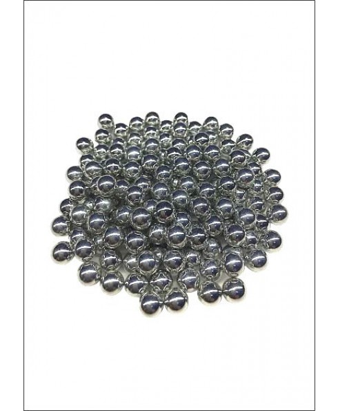 600 Pallini in Metallo Acciaio per Pistole Fucili da  SoftAir 6 mm 0,80 Grammi Shop SoftAir