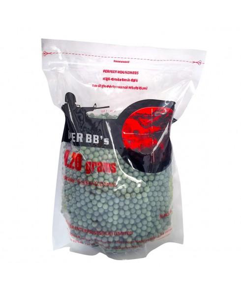Pallini Softair Busta 1 Kg 5000 Pezzi 6 mm Verdi 0.20 grammi