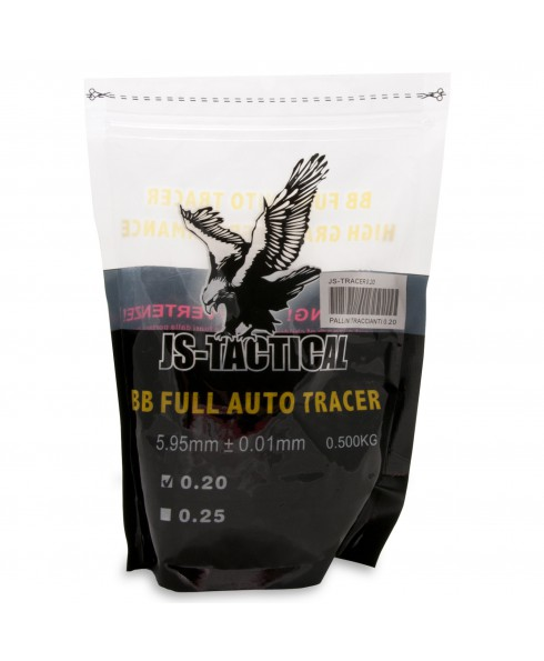 Pallini Softair 6mm Traccianti JS-Tactical - Busta 500 g
