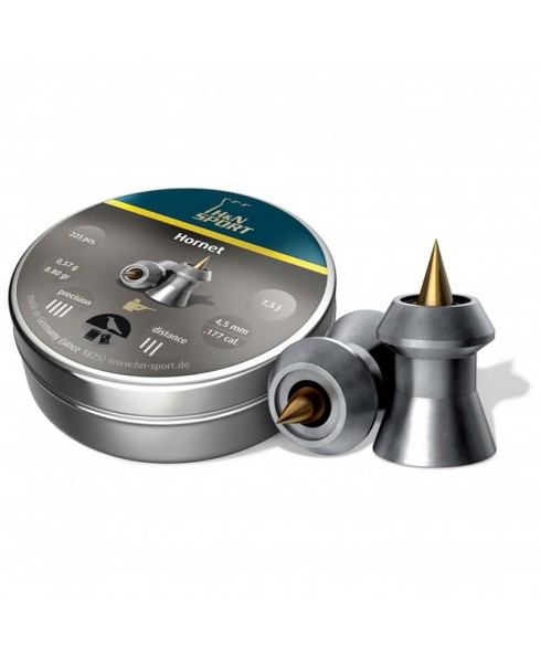 Piombini H&N Sport Hornet Calibro 4,5 mm 0,57g Libera Vendita