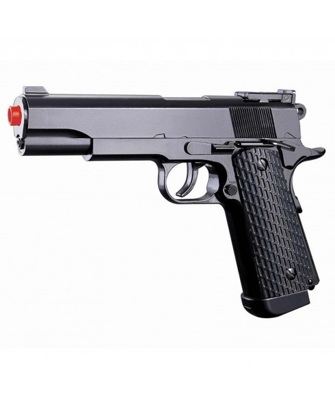Pistola Colt M1911 a Gas CO2 in ABS per Softair G292 Potenza inferiore 1 Joule