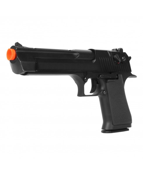 Pistola Desert Eagle a Gas CO2 KWC Scarrellante in Metallo ABS per Softair