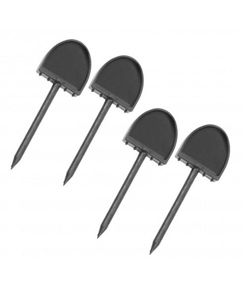 Set 4 Chiodini di Fissaggio Fogli su Bersaglio Tiro con Arco Sport Frecce