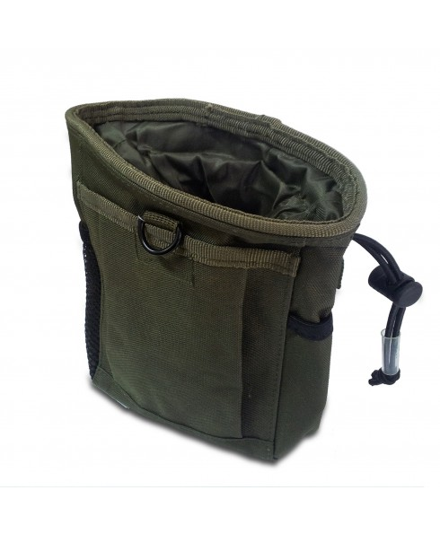 Tasca Portatutto Porta Caricatori Softair Soft Air Verde Militare Molle ROYAL