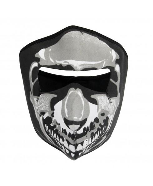 Maschera Di Protezione Protettiva Copri mento Teschio per Viso Softair SKULL