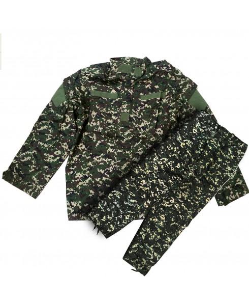 Uniforme Divisa Mimetica Militare Giacca Taglia XL per Softair Wooland Digital