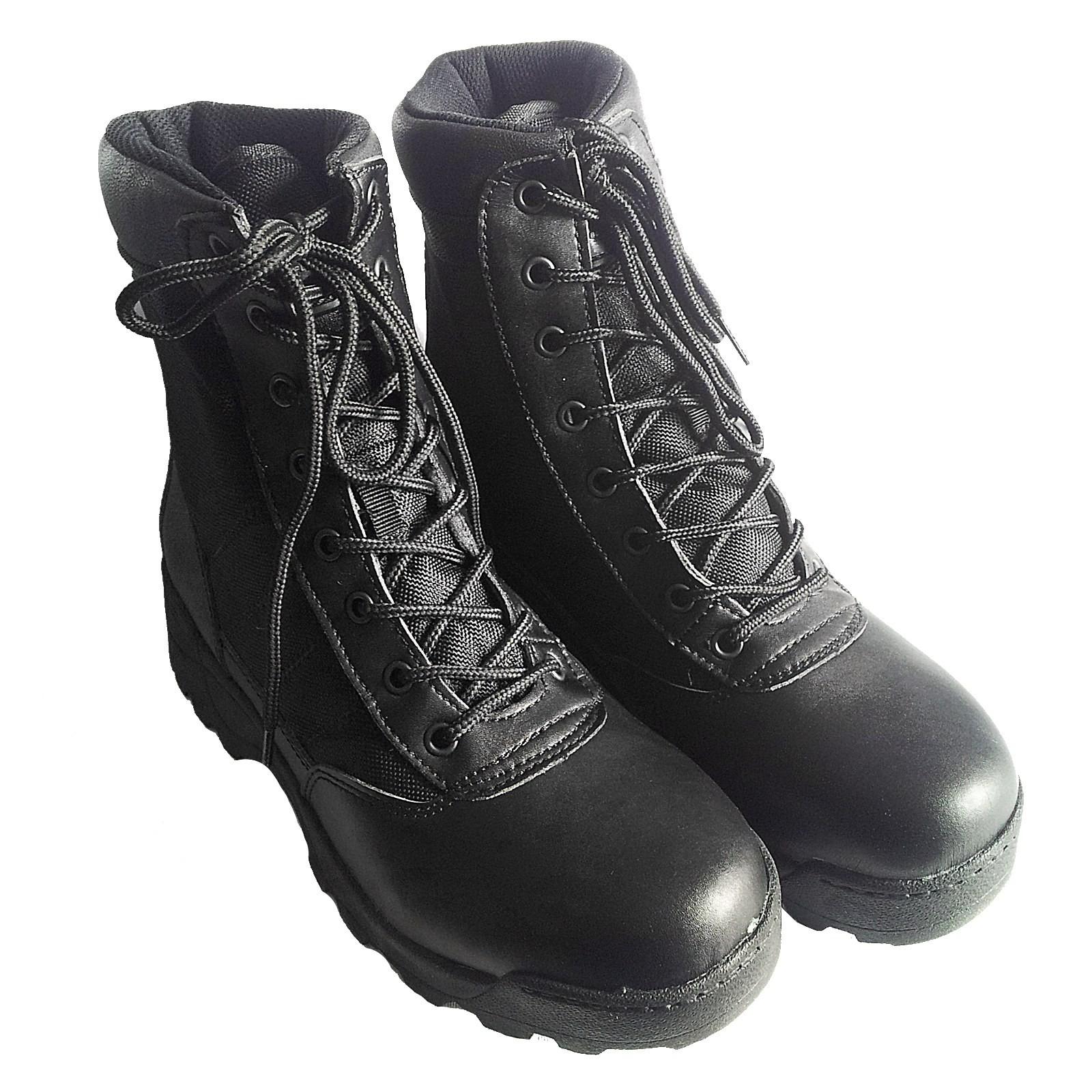 Anfibi Stivali Scarpe Scarponcini Trekking Softair Caccia Neri Taglia 41 Royal
