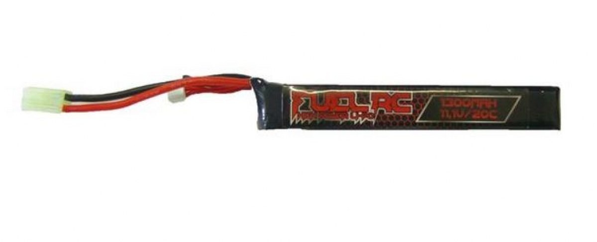 Batteria Li- Po Lipo Potenza 11,1 V 1300 Mah 20 C Sport Gioco Softair Fuel Rc