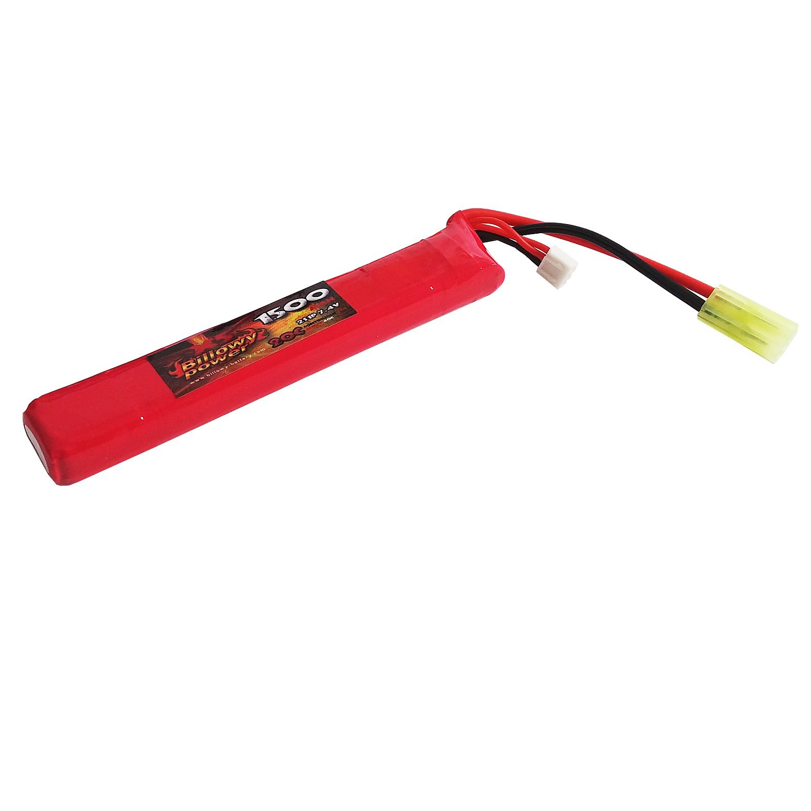 Batteria Lipo soft Air Softair 1500 mAH Ricaricabile Airsoft Billowy Power