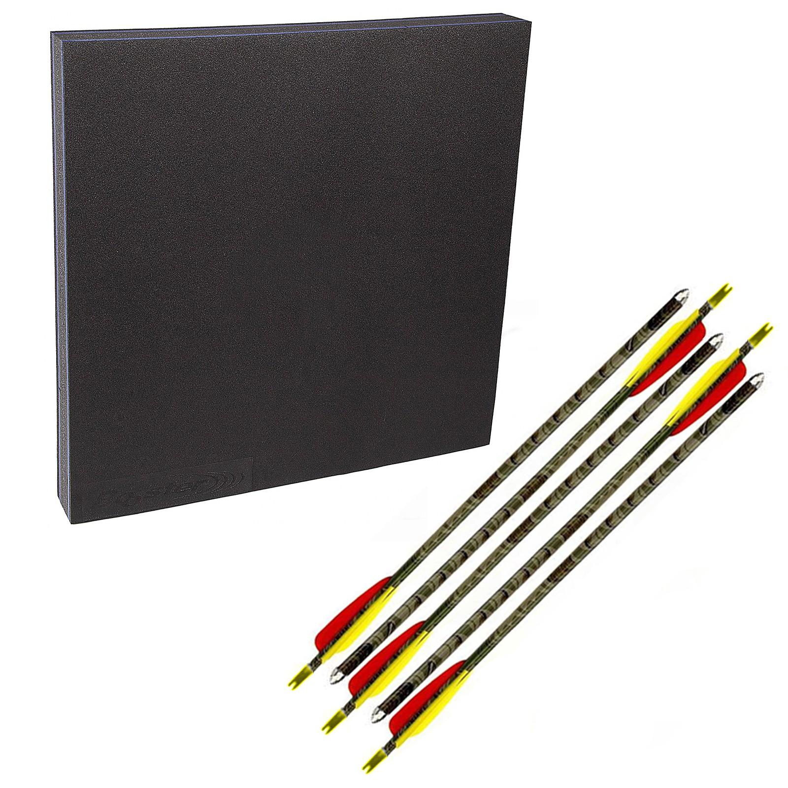 """Kit composto da Battifreccia Target sintetico 600x600 mm 5 frecce alluminio 29"""""""