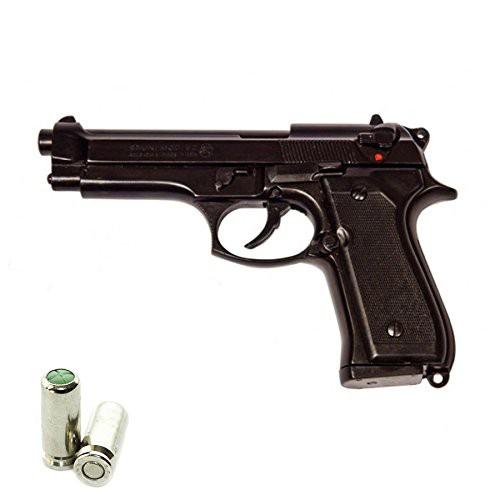 Pistola Beretta a Salve Bruni mod 92 Cal.9mm PAK Nera Top firing Semiautomatica