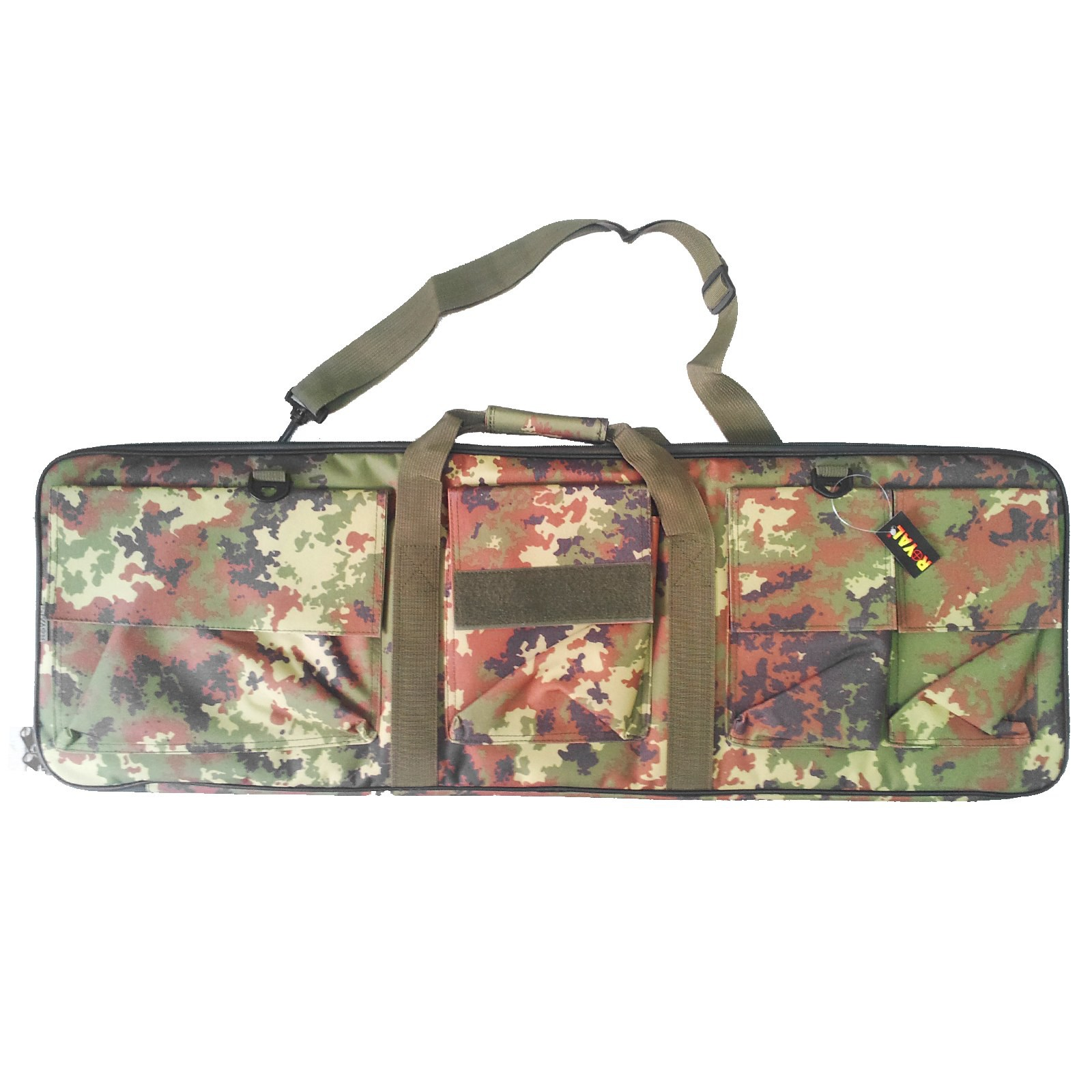 Sacca Custodia Borsa Porta Fucile da Softair 88 Cm in Cordura Vegetata
