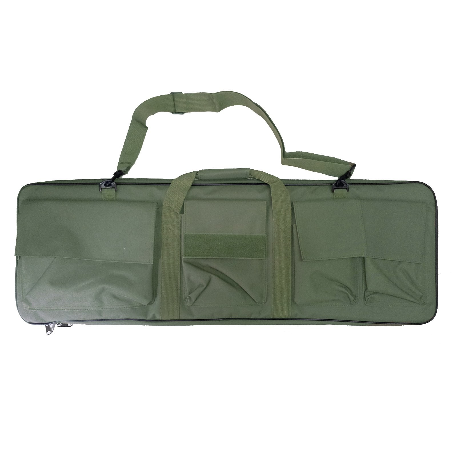 Custodia Sacca per Fucili Cordura per Softair Caccia Verde Militare 88 cm