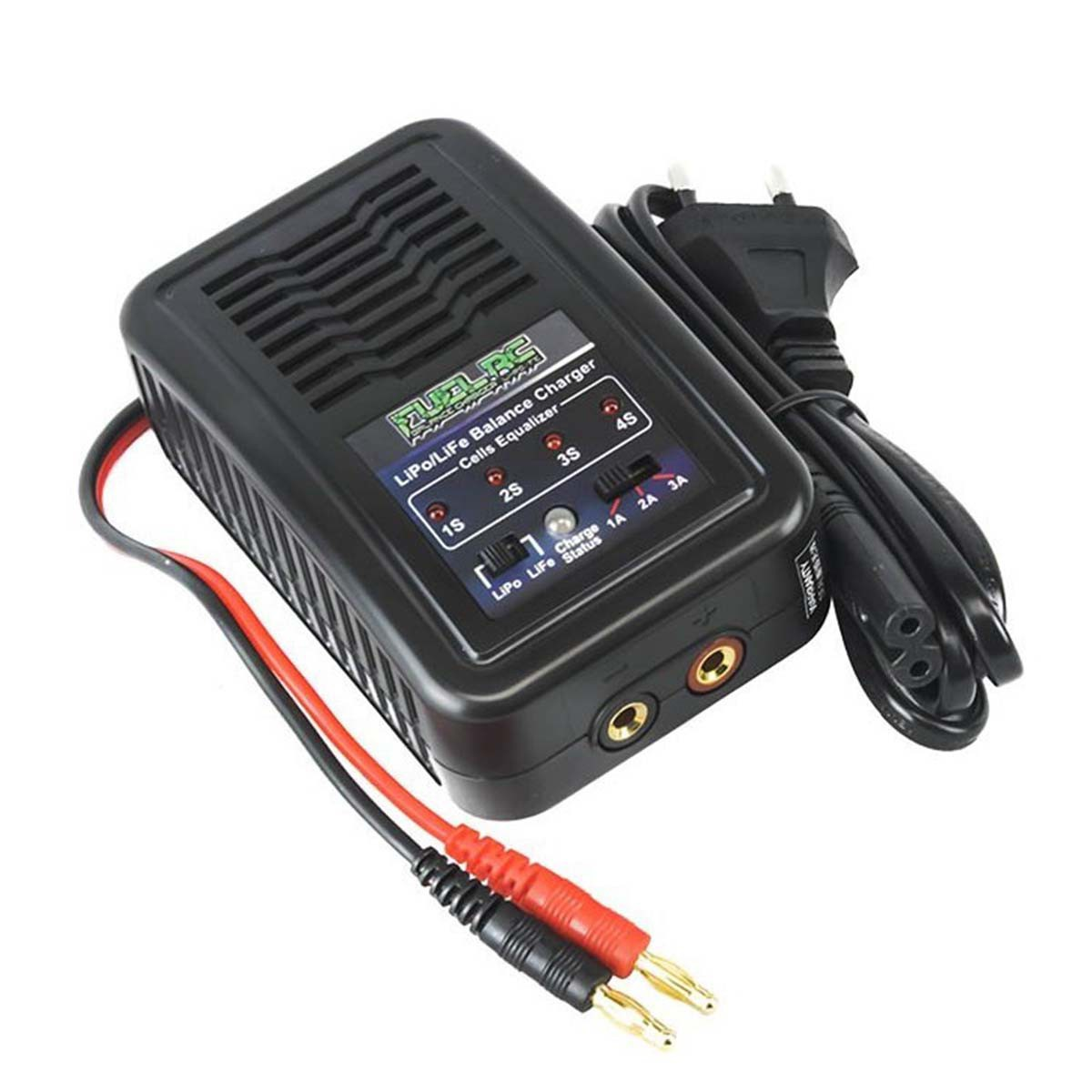 Caricabatterie per Batterie Lipo Life 7.4V 14.8V Bilanciatore Fuel Rc