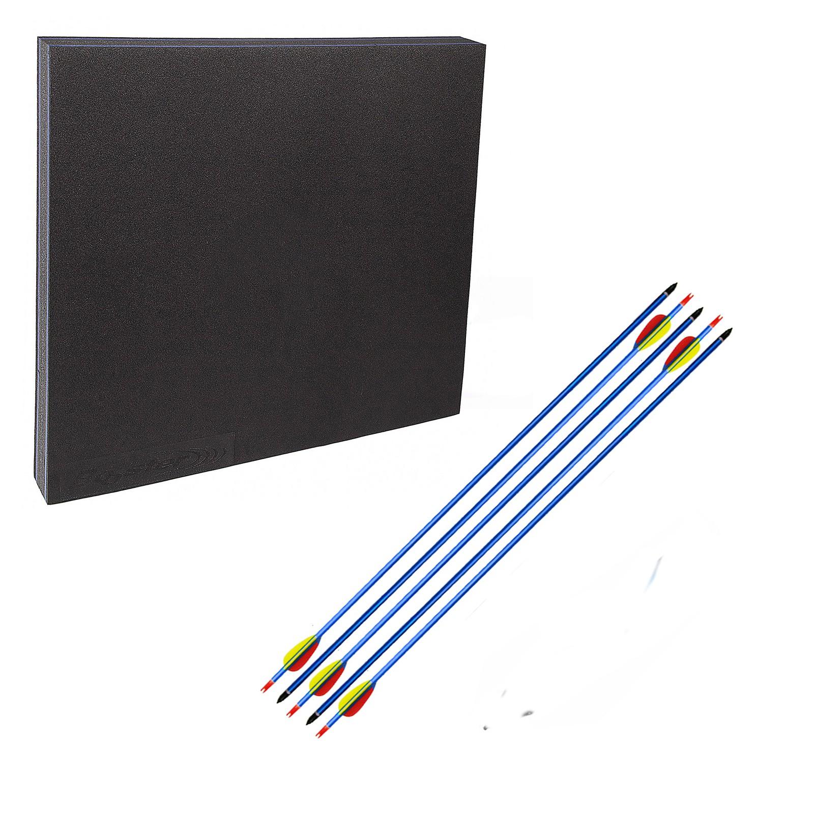 Kit Paglione Battifreccia sintetico Booster 5 Frecce alluminio blu 30 pollici