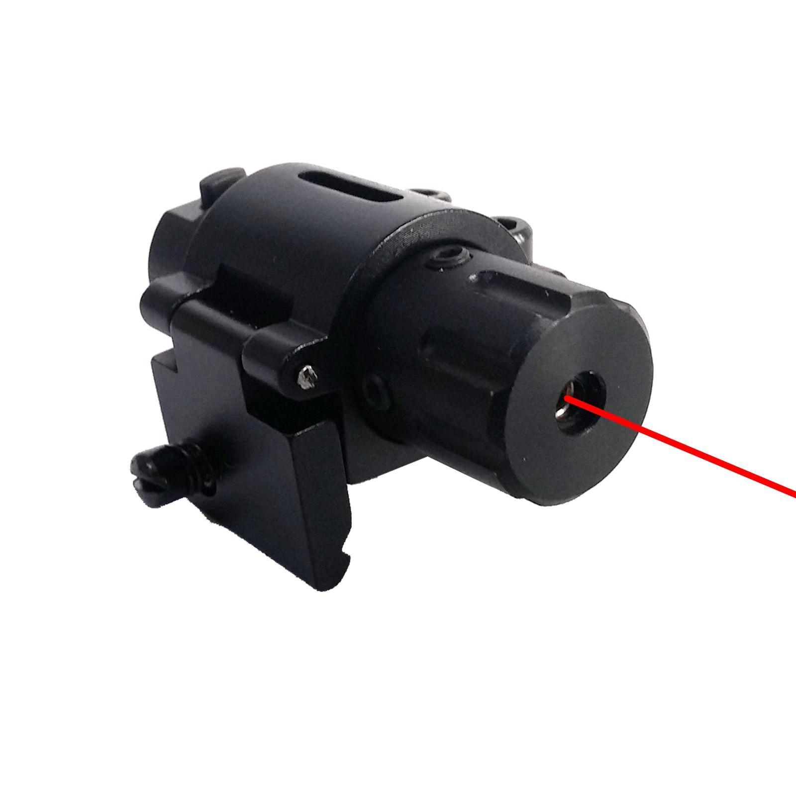 Puntatore Laser Mirino Universale per Pistole Soft Air Comando Remoto Softair