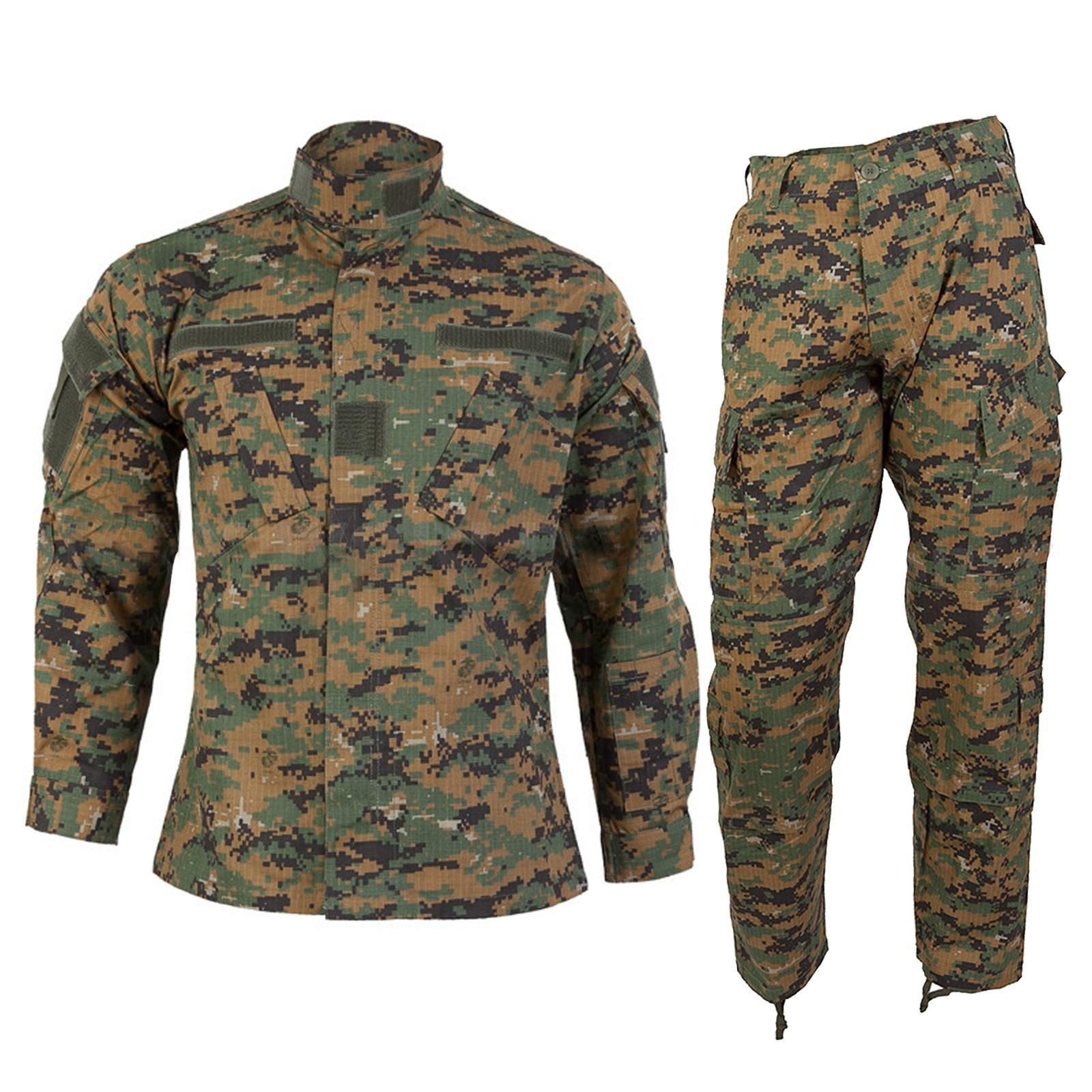 Mimetica Vegetata Militare Giacca Pantalone Digital Woodland MARPAT