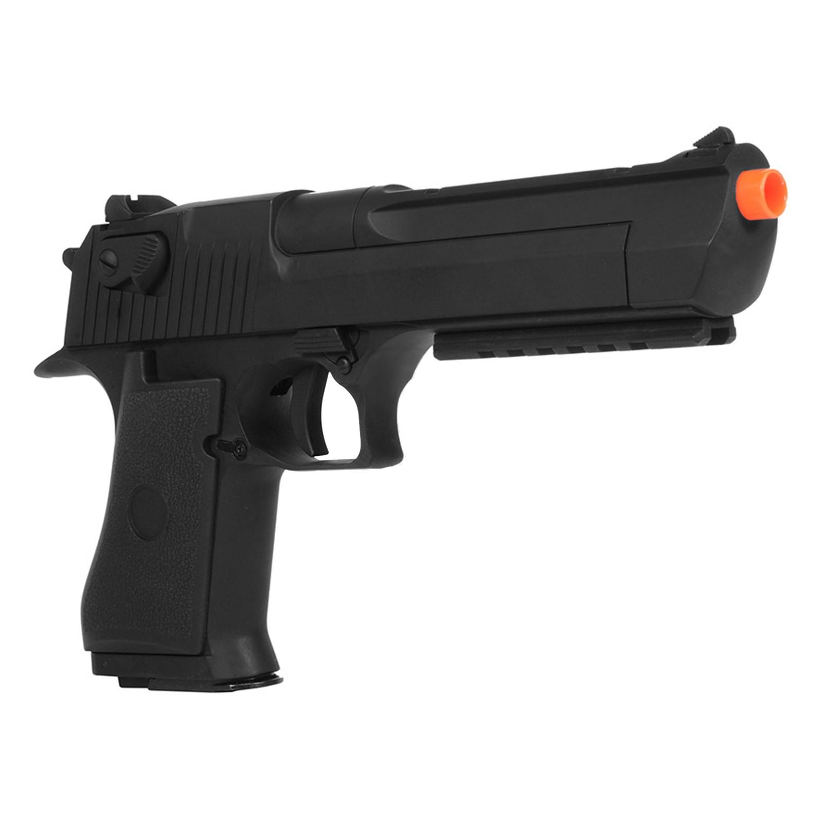 Pistola Desert Eagle Elettrica in Metallo Abs per Softair Raffica CYMA CM121