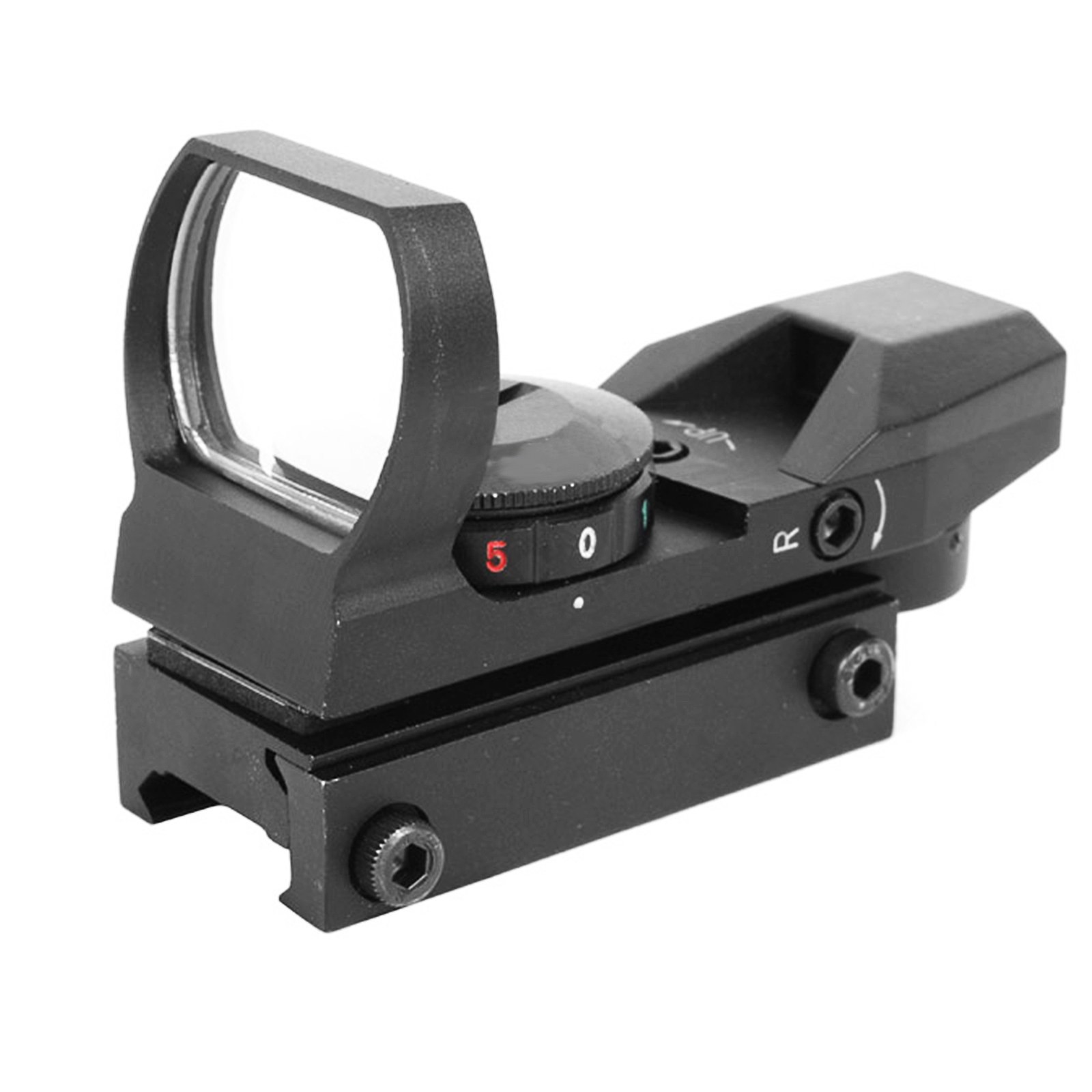 Ottica Mirino Punto rosso Red Green Dot Sight per Softair Olografico Js-Tactical