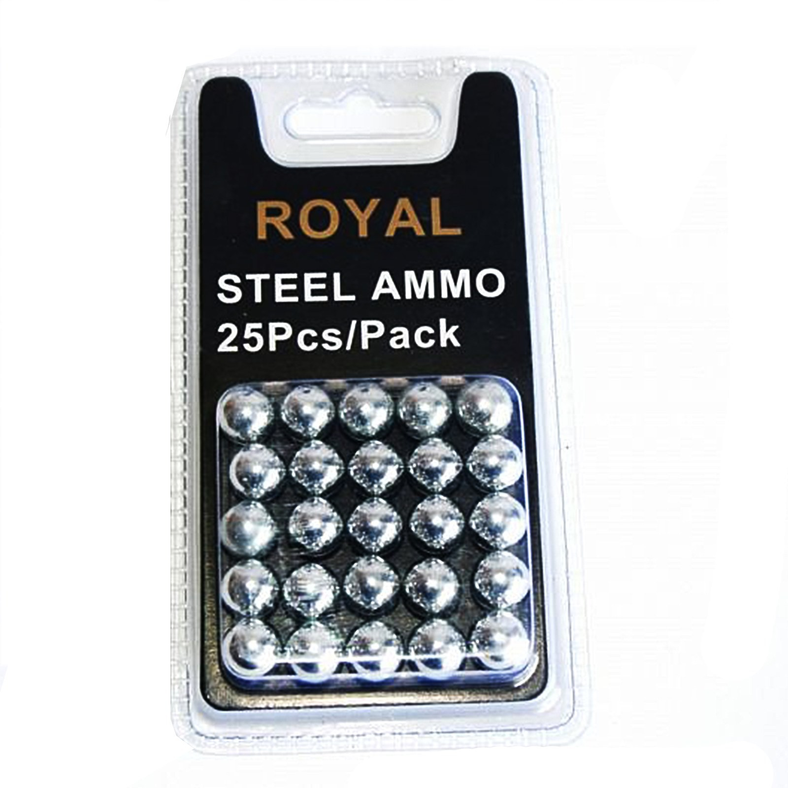 Sfere per Fionda in Acciaio 10 mm Royal - Set da 25